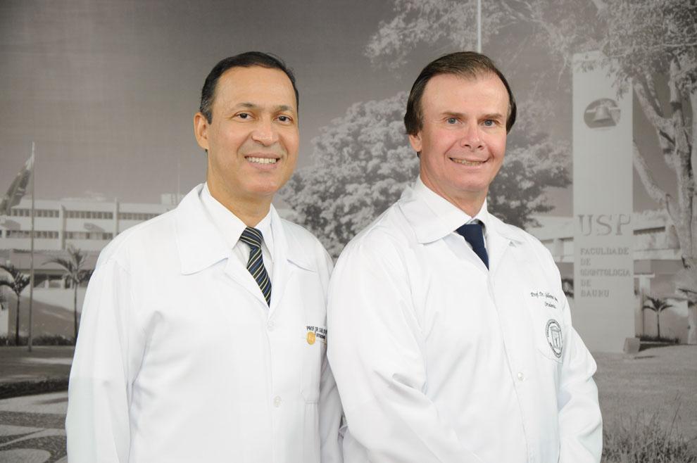 Prof. Dr. Carlos e Prof. Dr. Guilherme