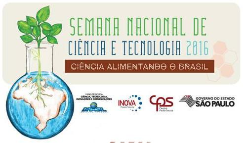 Semana Nacional de Ciência e Tecnologia 2016 – banner
